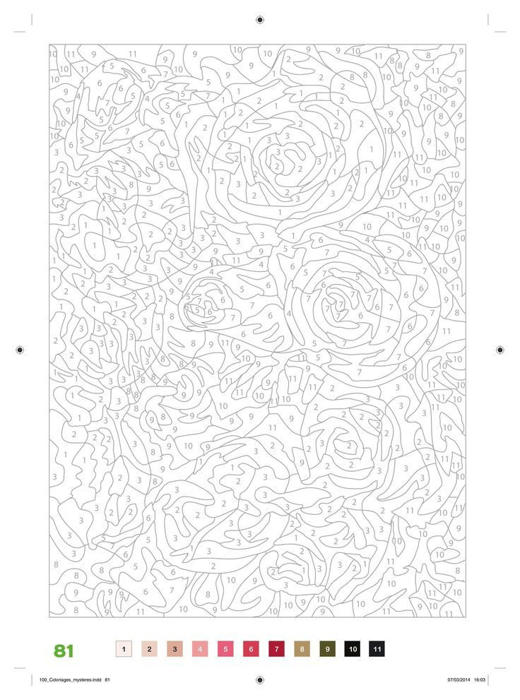 Pin de Shellie\'s Cleaning Services en number coloring pages ...