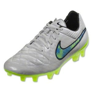 Nike Tiempo Legend V FG Mens Soccer CleatsWhiteSoarVolt  Football boots  Football boots and Kangaroos