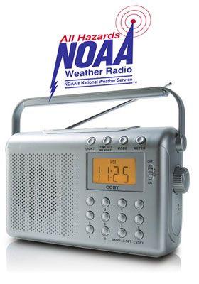 Battery Powered Radio Make Sure It Is Noaa Weather Radio With Tone Alert Weather Radio Radio Noaa Weather Radio