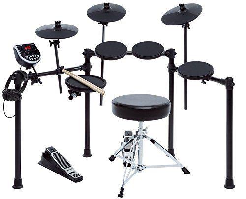 Xdrum dd drum set batteria elettronica con sgabello e cuffia