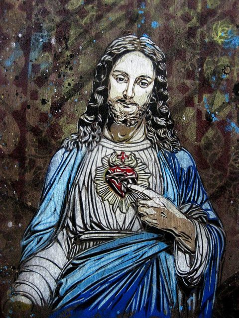 Christ by C215