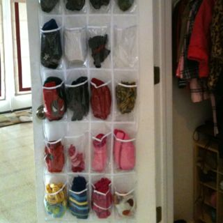 An Over The Door Shoe Holder To Organize Hats And Gloves For Every