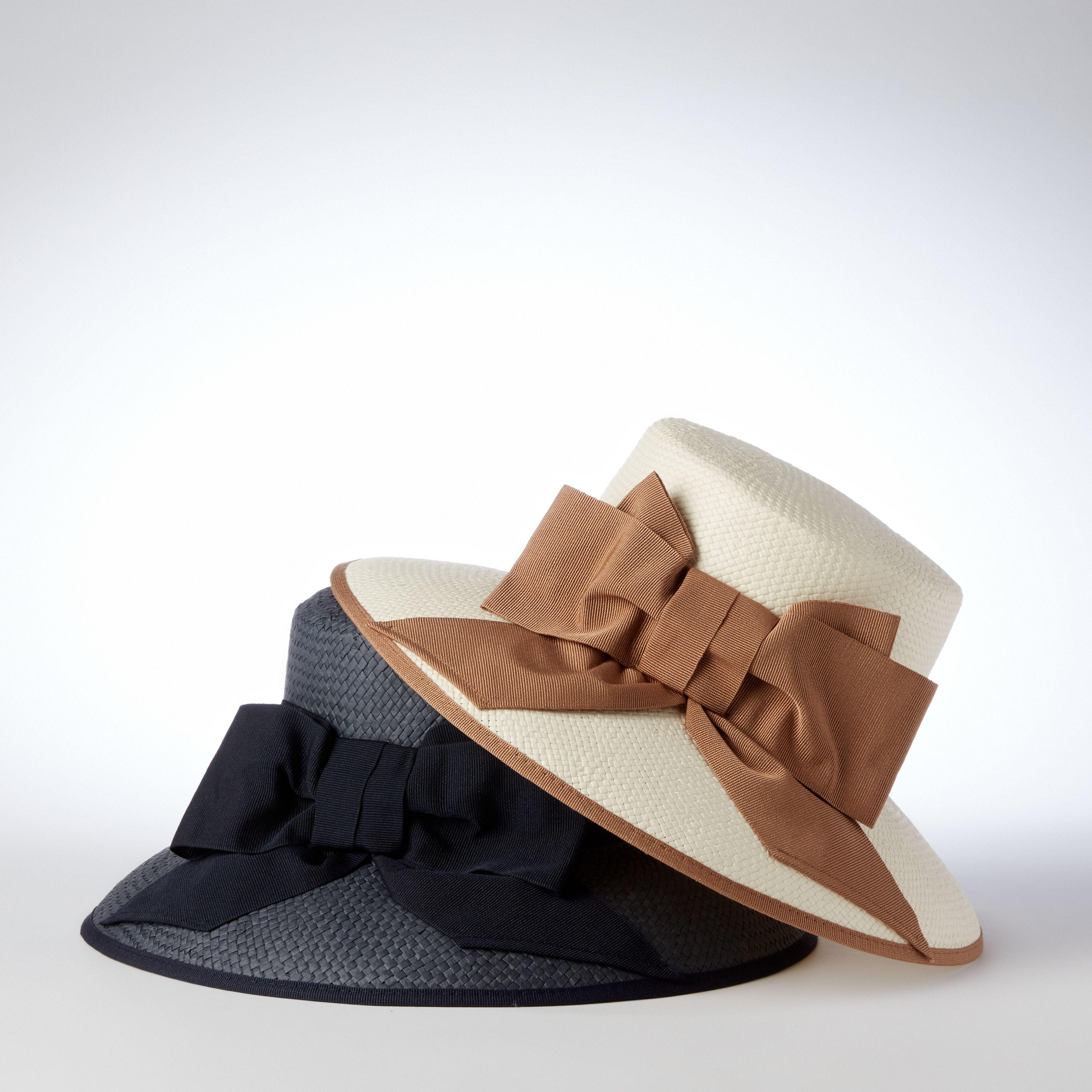 Helene Berman Bow detail Audrey hat