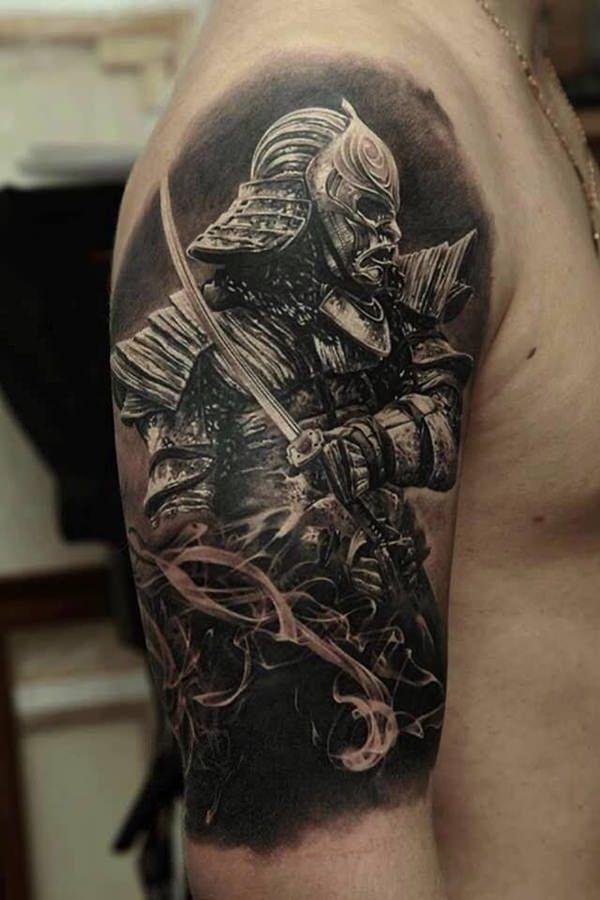 2c886e2957583 85 Samurai Tattoo Designs   Tattoos   Samurai tattoo, Japanese ...