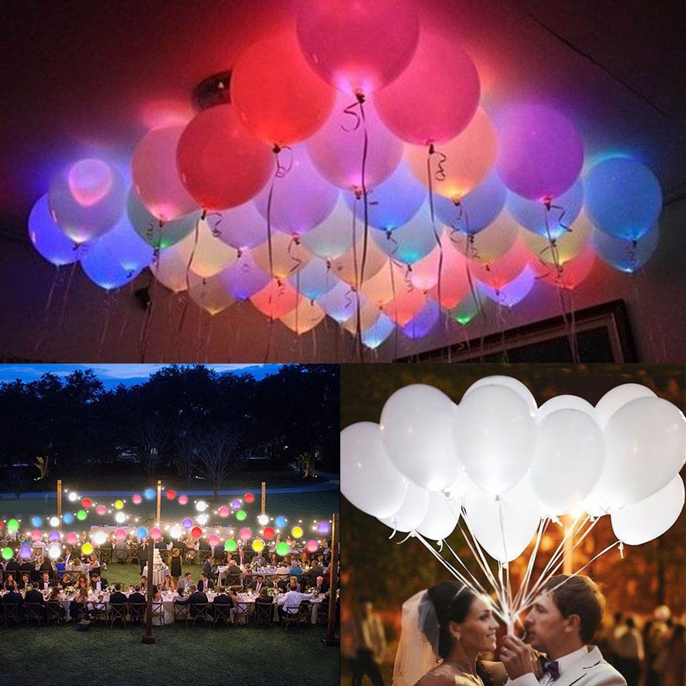 Description Condition 100 Brand New And High Quality It Is A Great Gift For Your Lover Family Light Up Balloons Party Lights Decoration Glow Stick Party