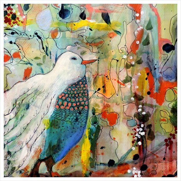 Vers toi art print by sylvie demers on artsider http