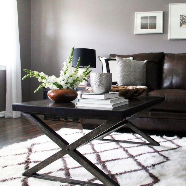 Modern Rustic Living Room And Bedroom Modern Living Room Brown Modern Rustic Living Room Grey Walls Living Room