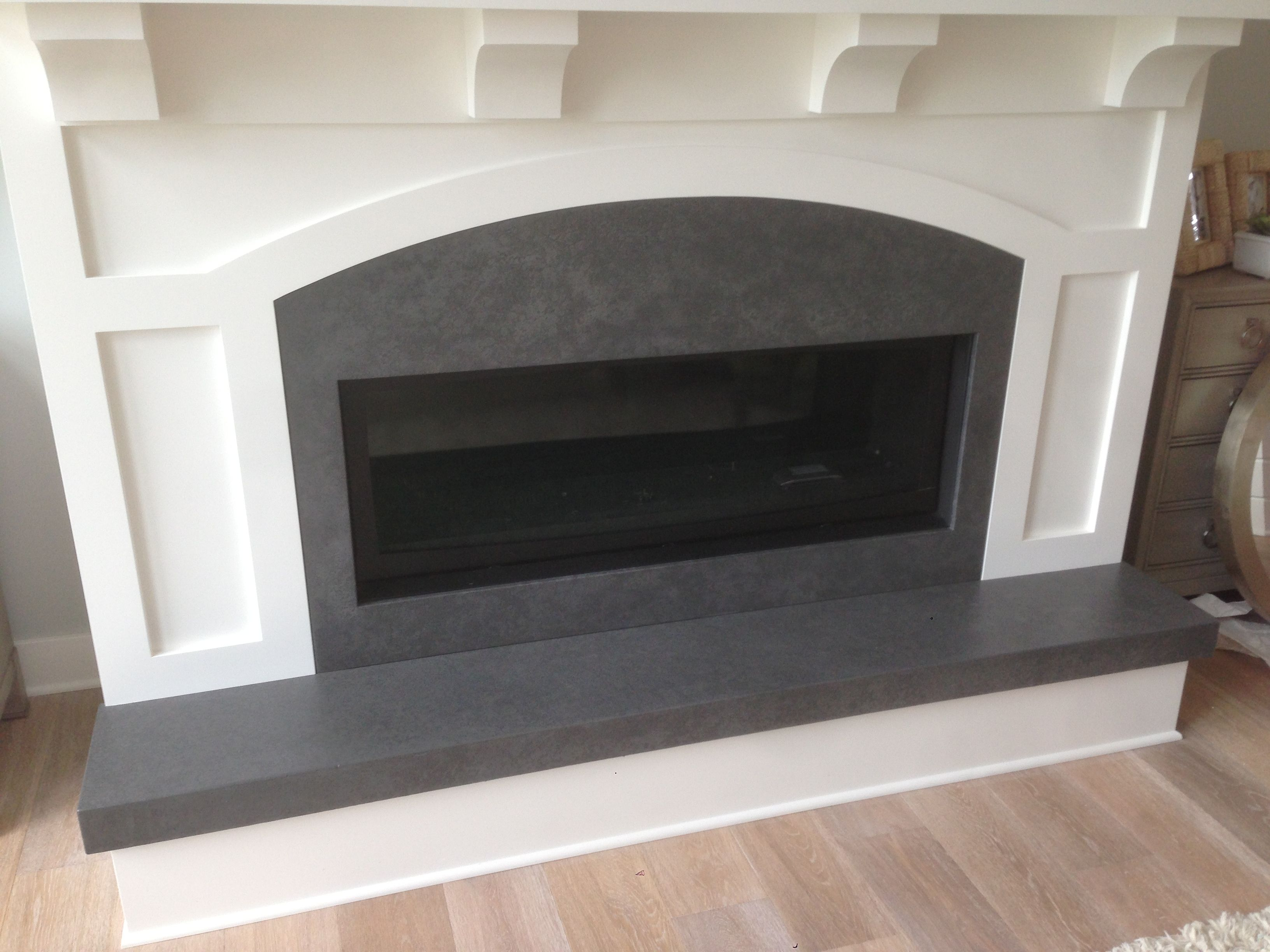 Hard Topix Concrete Fireplace Surrounds Hearths And Mantles Grand Rapids Mi Cast Stone Fireplace Stone Fireplace Fireplace