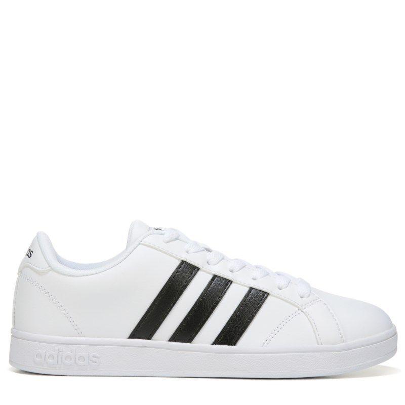 new arrival f9e32 46531 Adidas Womens Neo Baseline Sneakers (WhiteBlack)