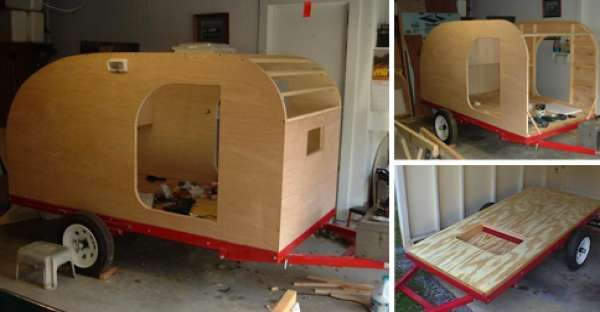 Here's Why Building a Teardrop Trailer by Yourself Can Be Better