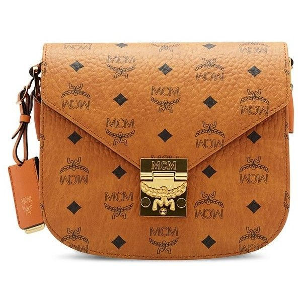 74dfe2945e Women s Mcm  Small Patricia  Visetos Coated Canvas Crossbody Bag ( 720) ❤  liked on Polyvore featuring bags