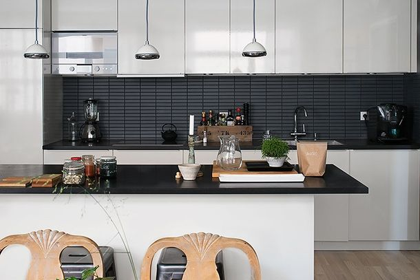 Zwart Witte Tegels : Witte tegels keuken