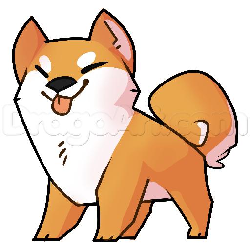 how to draw a shiba inu step 12 art ideas pinterest shiba rh pinterest co uk Airedale Terrier Dog Clip Art Beagle Silhouette Clip Art