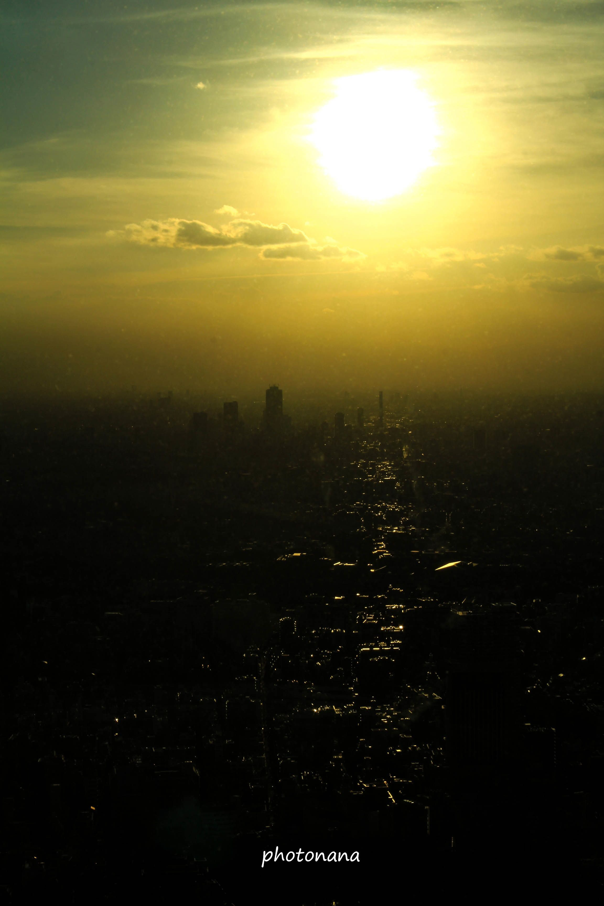 #Tokyo #Sky #sunset