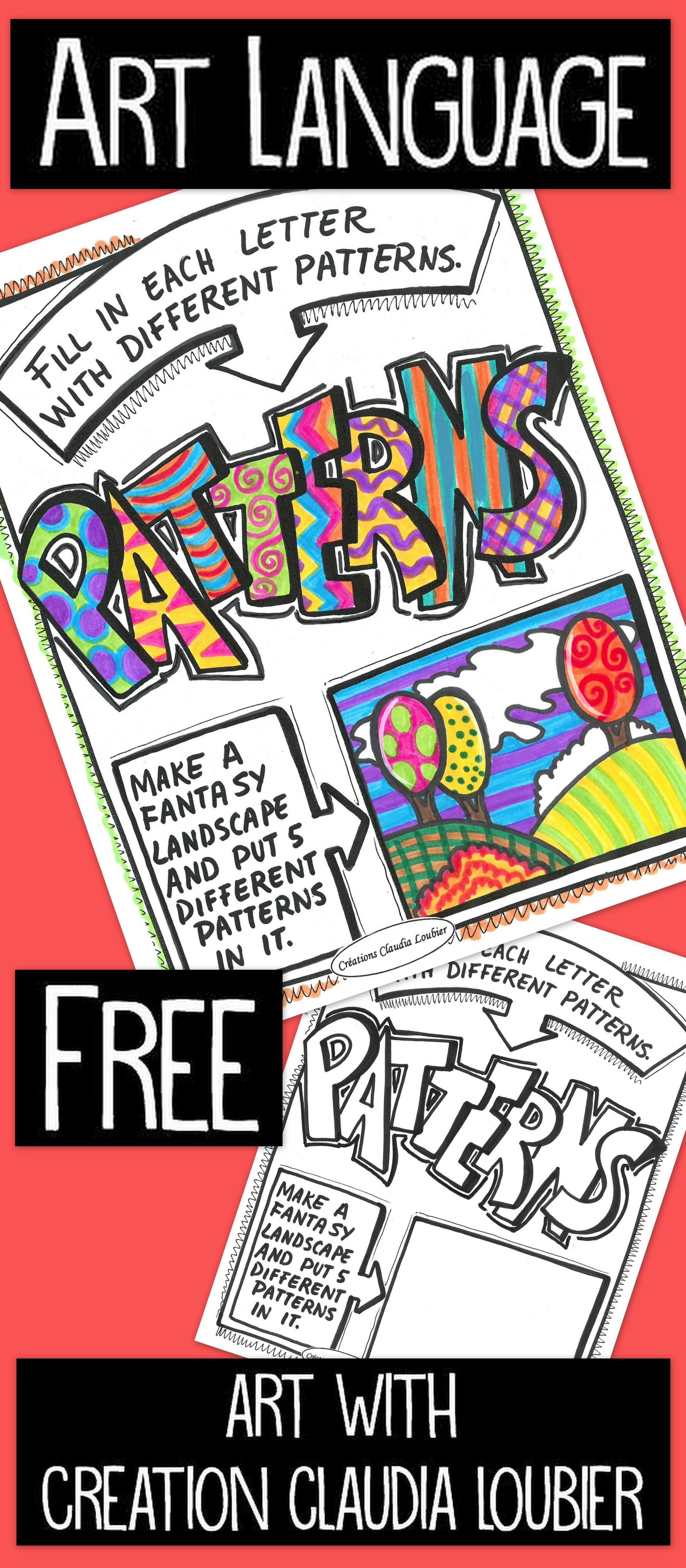 Printable Patterns Exercise Free