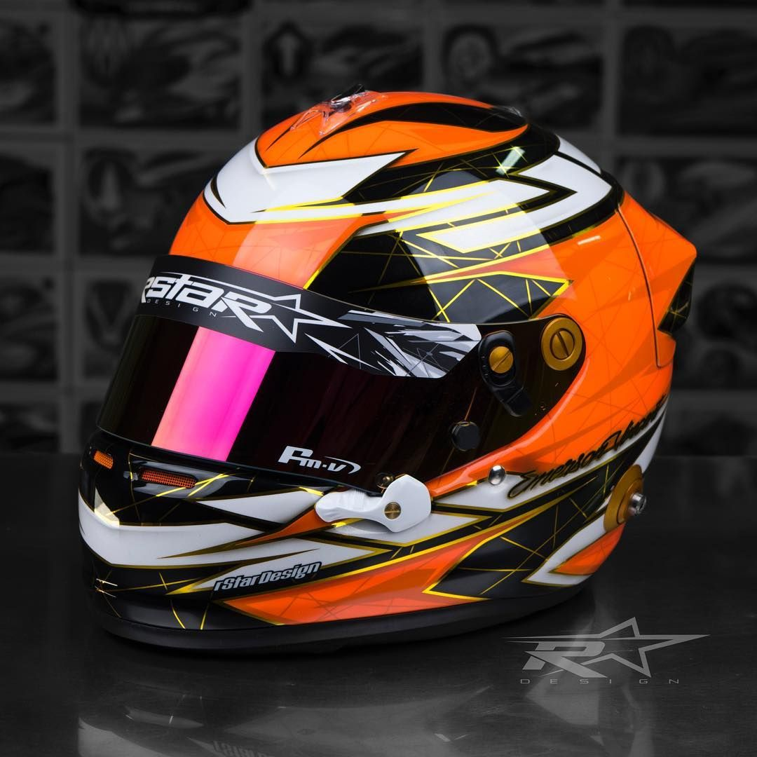 Emerson Vincent S New Arai Gp6 Made Is Way Across To Nz A Few Weeks Back And Was Given To Him Today For His Birthday It Fe Helmet Design Helmet Cycling Helmet