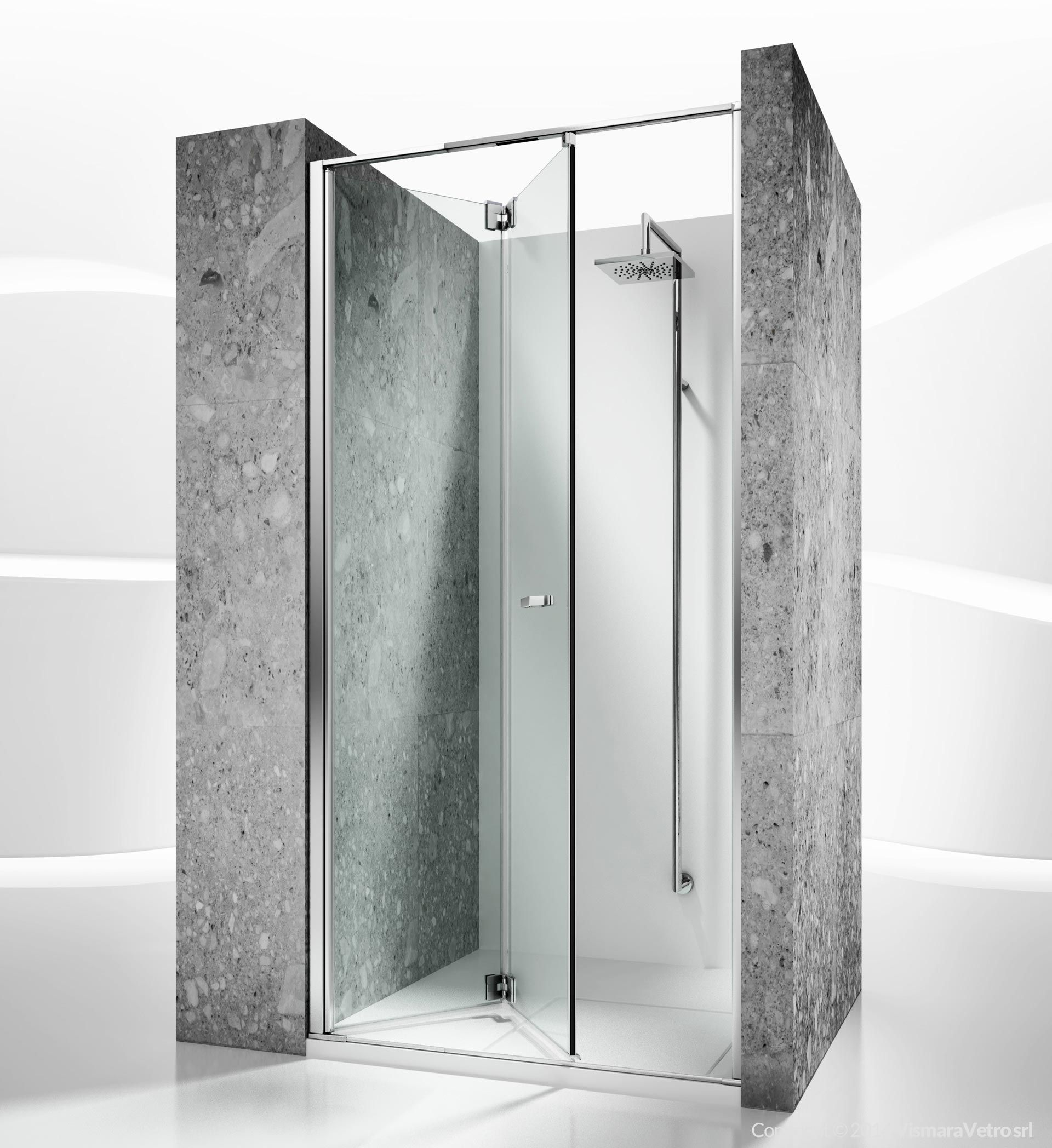 Replay shower enclosures models folding door by