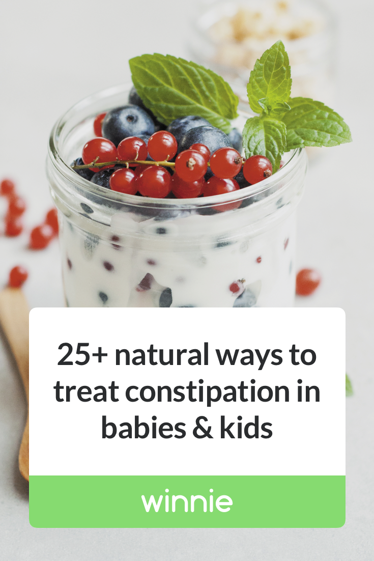 Natural remedies for constipated babies and kids Organic