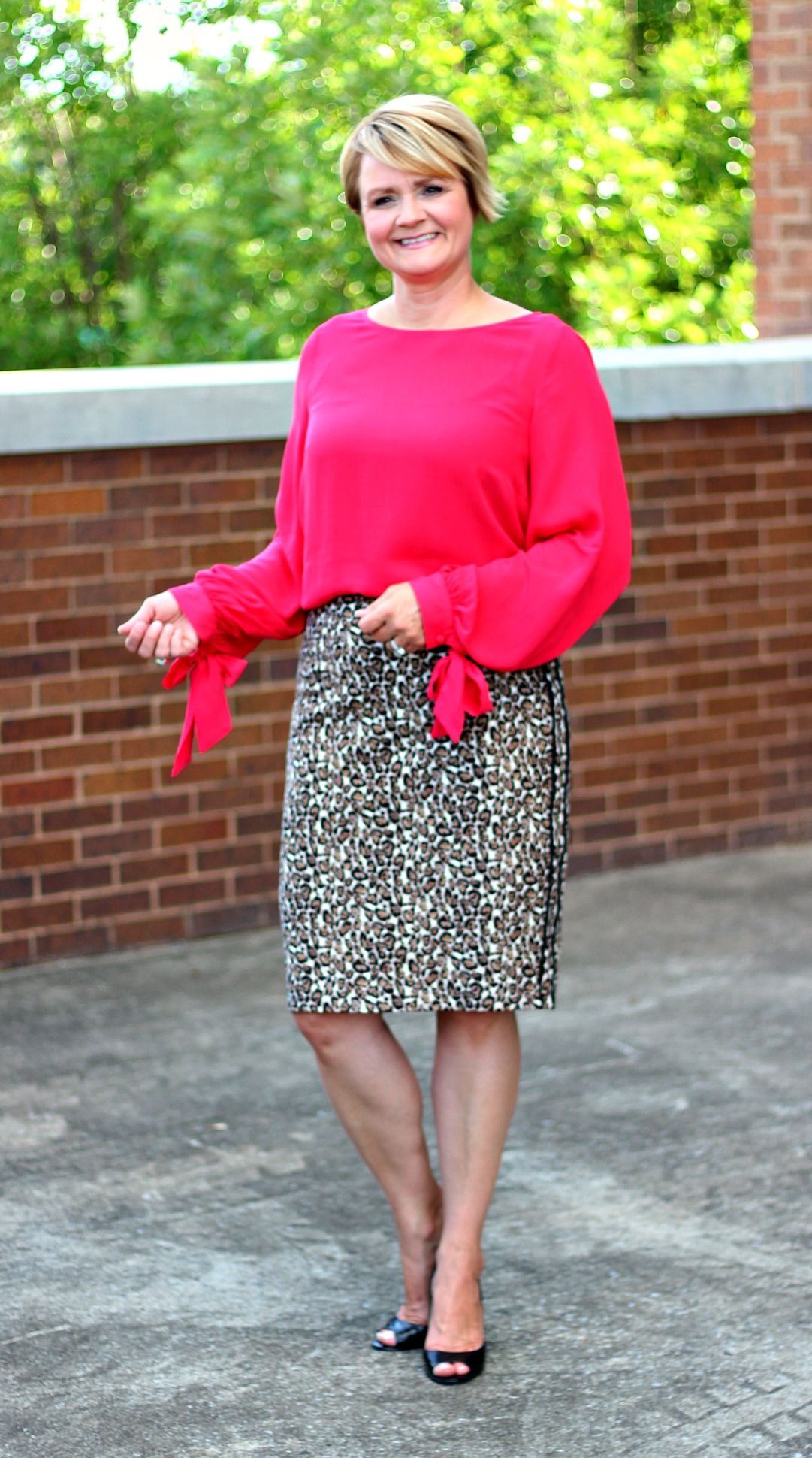 Image result for Leopard Print outfit with bright colors