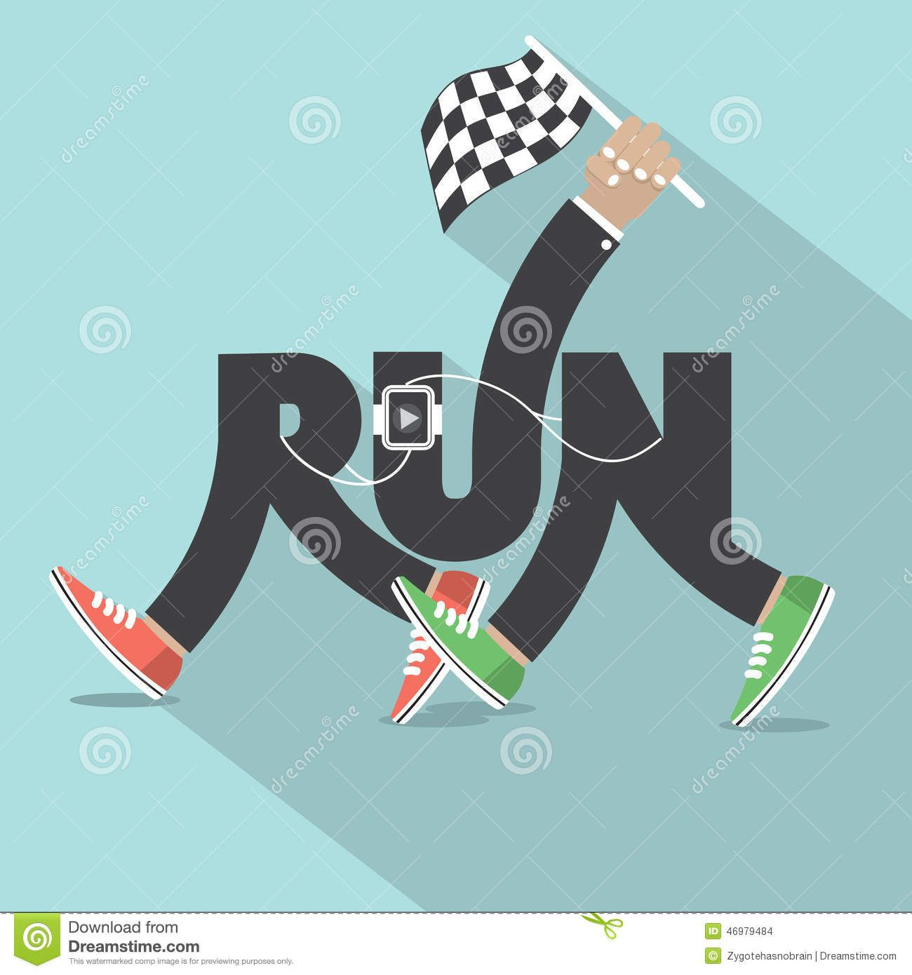 run event typography Pesquisa Google Illustration