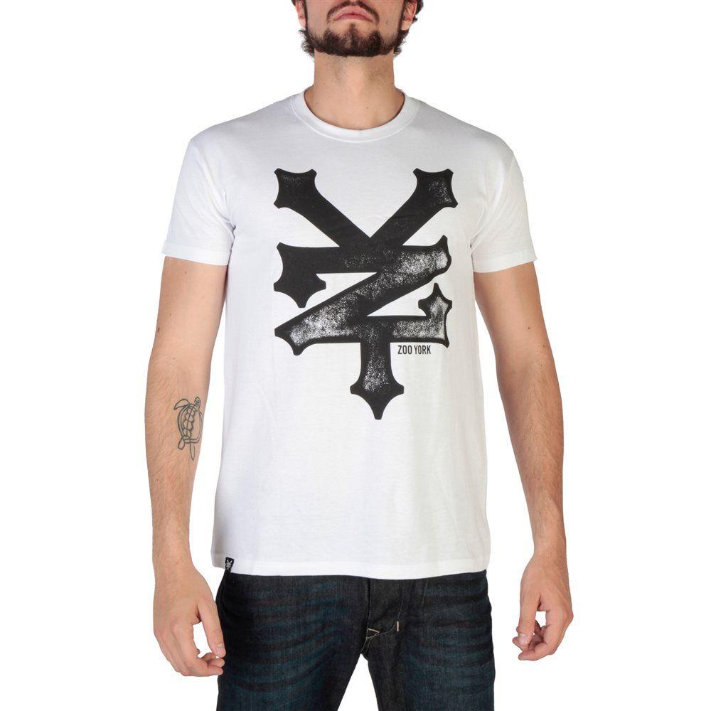 Camiseta blanca hombre estampada de manga corta de Zoo York modelo RYMTS140 3e59e1206af90