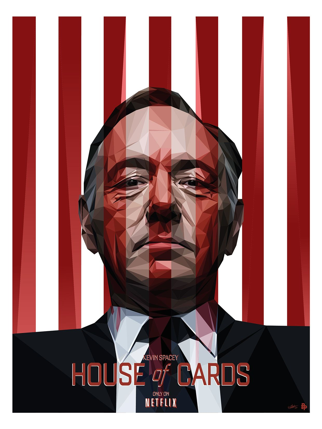 House design tv series - Onemoreposter House Of Cards Tribute To The Netflix Tv Show