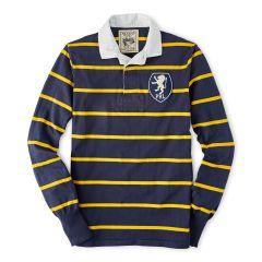 Custom-Fit Striped Rugby Shirt - Polo Ralph Lauren Custom-Fit - RalphLauren.
