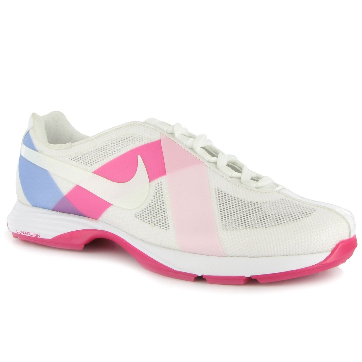 finest selection 084fe b8c77 Nike Lunar Summer Lite White Prism Pink 6 1 2 Wide Ladies Golf Shoes at .