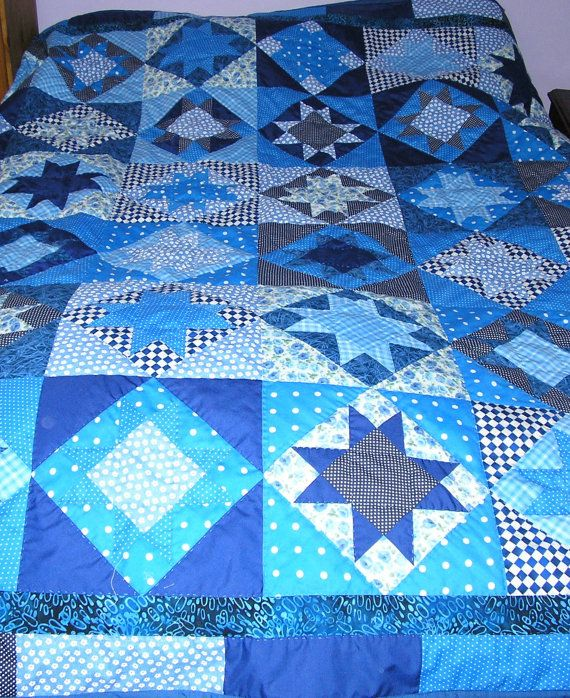 MADE TO ORDER Traditional Single patchwork by PurplePatchDesign