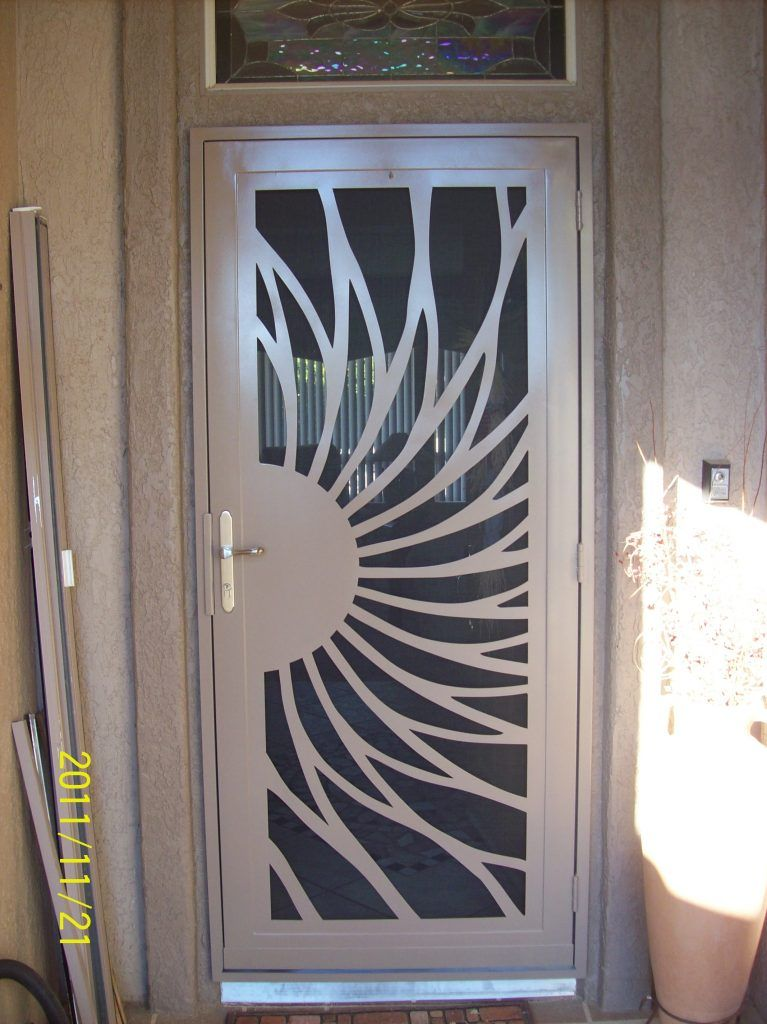I Just Love How This Security Screen Door Looks Like Part