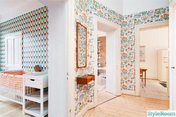 Fina Tapeter Till Hallen : Hall on Pinterest Kites, Ikea Cabinets and Ikea