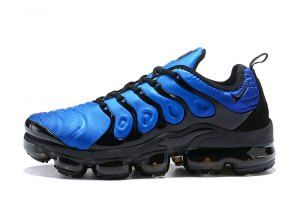 8374182b8bd71 Mens Nike Air VaporMax Plus Tn Obsidian Photo Blue Black 924453 401 Casual  Sneakers