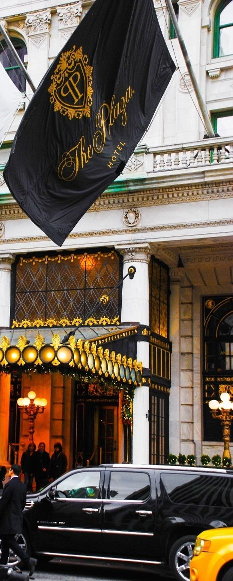 Plaza Hotel In New York City, NYC