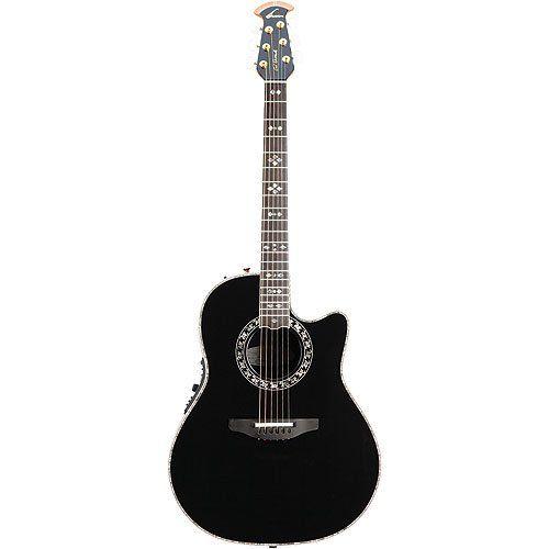 Buy Ovation 1769-ADII Al Di Meola Custom Legend Deep Contour Bowl Acoustic Electric Guitar Black 1769-ADII5 at ZoZoMusic.com