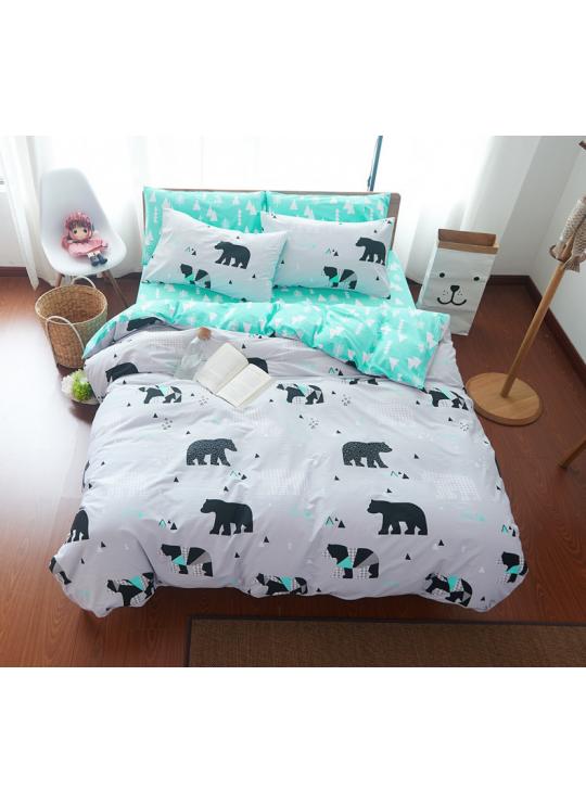 housse de couette ours polaire juv nile literie pinterest housses de couette polaires. Black Bedroom Furniture Sets. Home Design Ideas