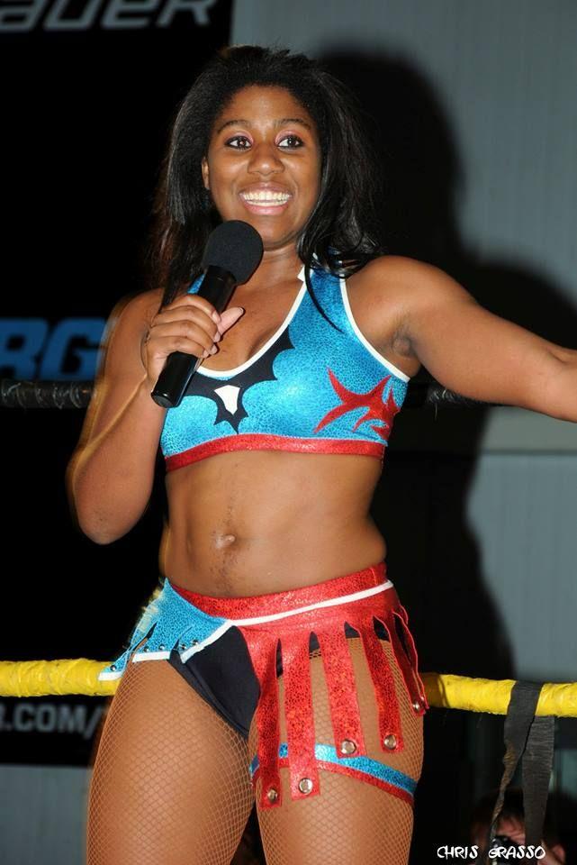 Renee Paquette Bikini Athena, The Wrestling ...