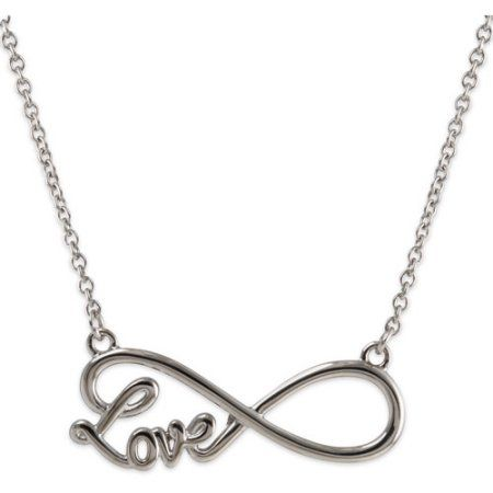 Connections from hallmark stainless steel love infinity necklace connections from hallmark stainless steel love infinity necklace 18 mozeypictures Gallery