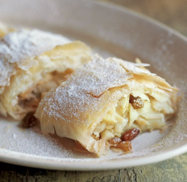 Puff Pastry Apple Strudel Food Network