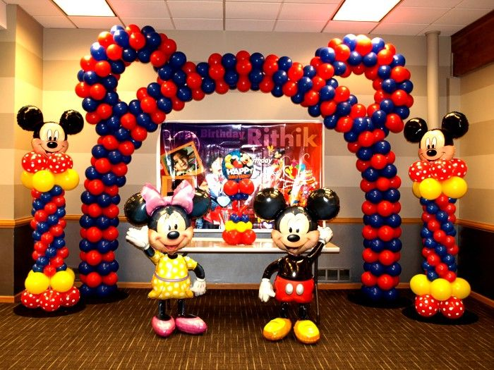mickey mouse parties mickey mouse clubhouse mickey party balloon arch ...