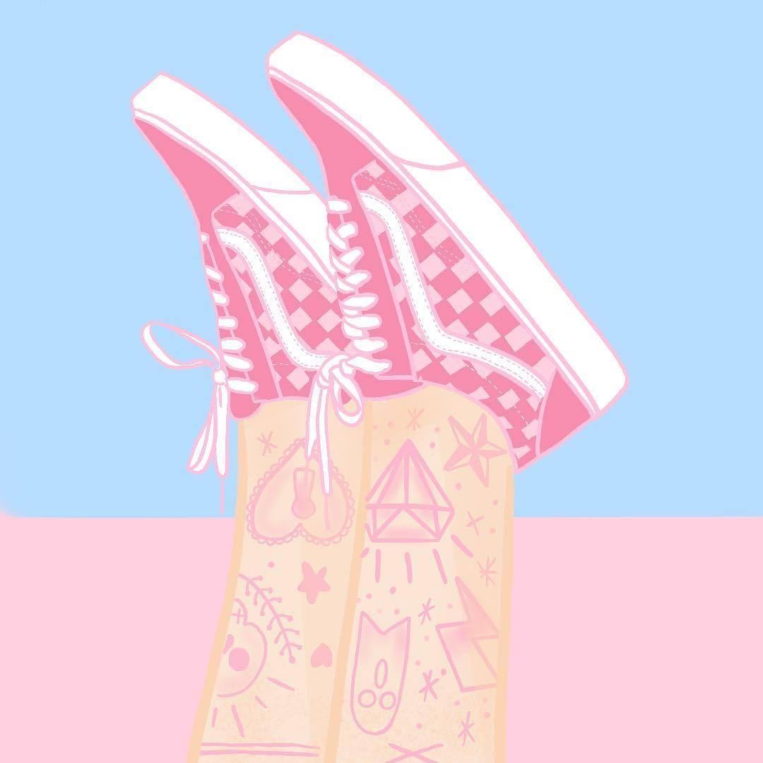 Your Weekly Art Fix By Mariemolli Vans Girls Custom Vans