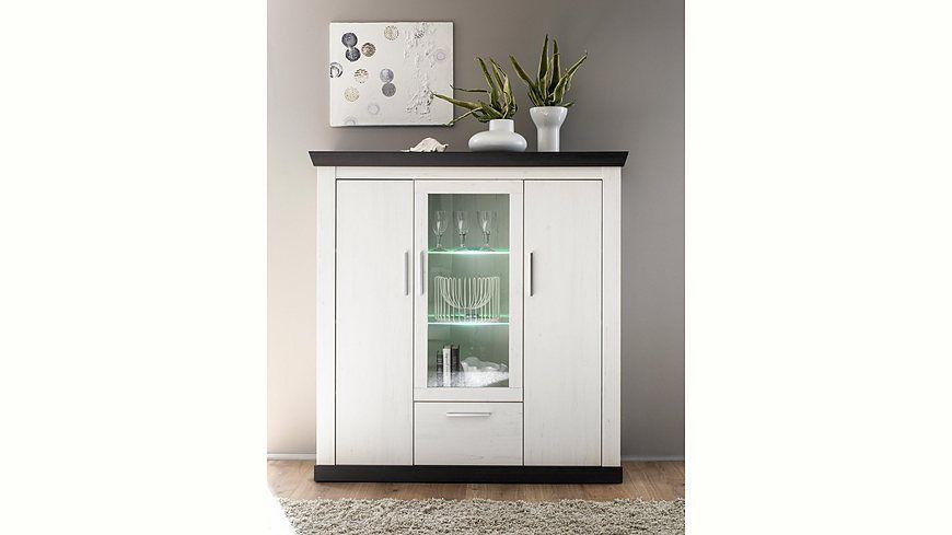 Home affaire Highboard »Siena«, Breite 141 cm Jetzt bestellen - küchen wandregal landhaus