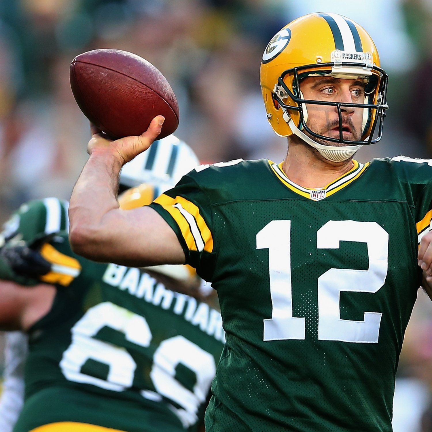 Packers Aaron Rodgers Passes Bart Starr On Franchise S Passing Yardage List With Images Aaron Rodgers Bart Starr Packers