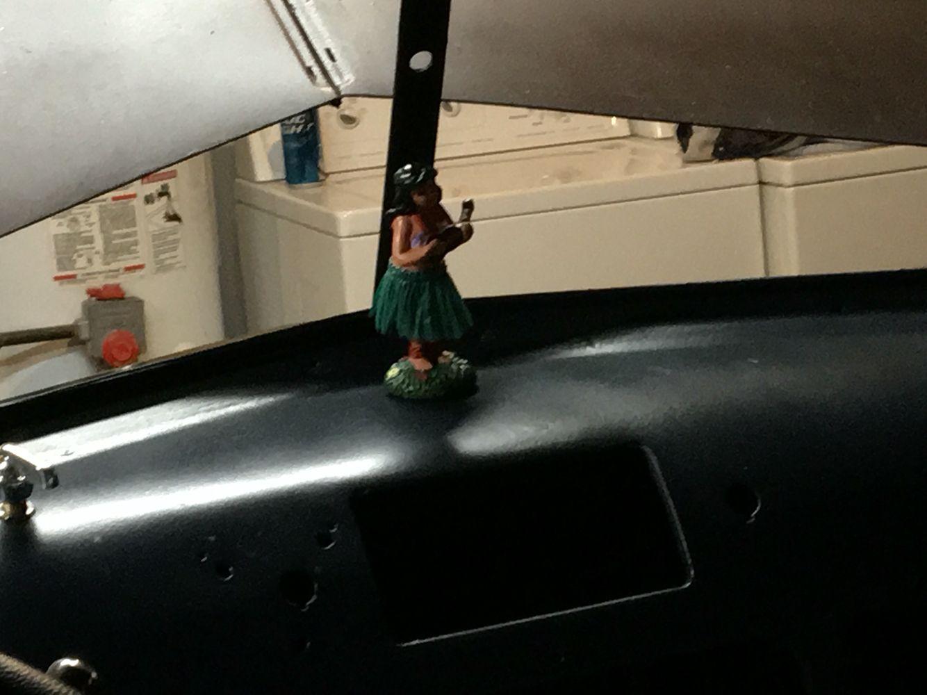 Accessories Rat rod, Old trucks, Hula girl