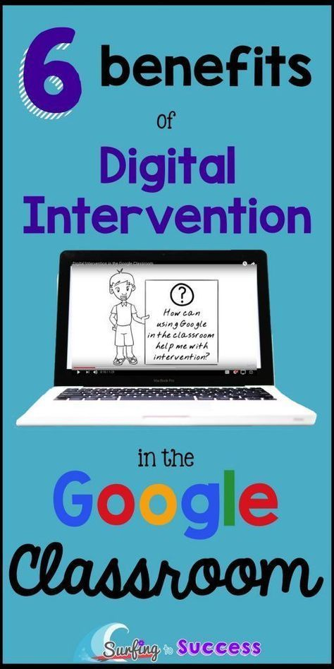 Digital Intervention in the Google Classroom