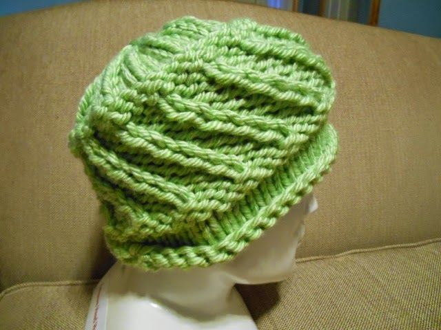 Knitting with Schnapps: Introducing Whirligig! hat using size 13 ...