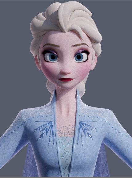 Elsa Frozen2 3d Model Preview Viewport Render By King Of Snow On Deviantart In 2020 Disney Frozen 3d Model Character Frozen Disney Movie