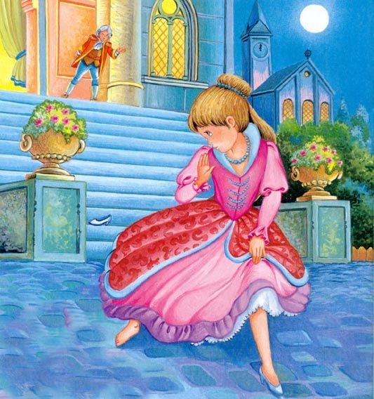 Cinderella Lost Her Slipper