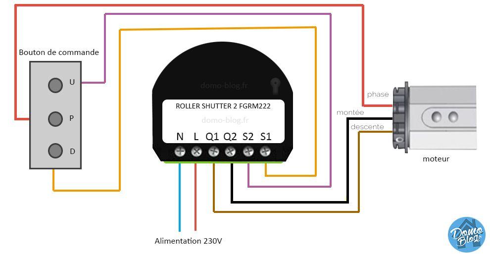 Fibaro Roller Shutter Comment Installer Le Module Domotique Pour Volet Roulant Z Wave Volet Roulant Domotique Volet Roulant Systeme Domotique
