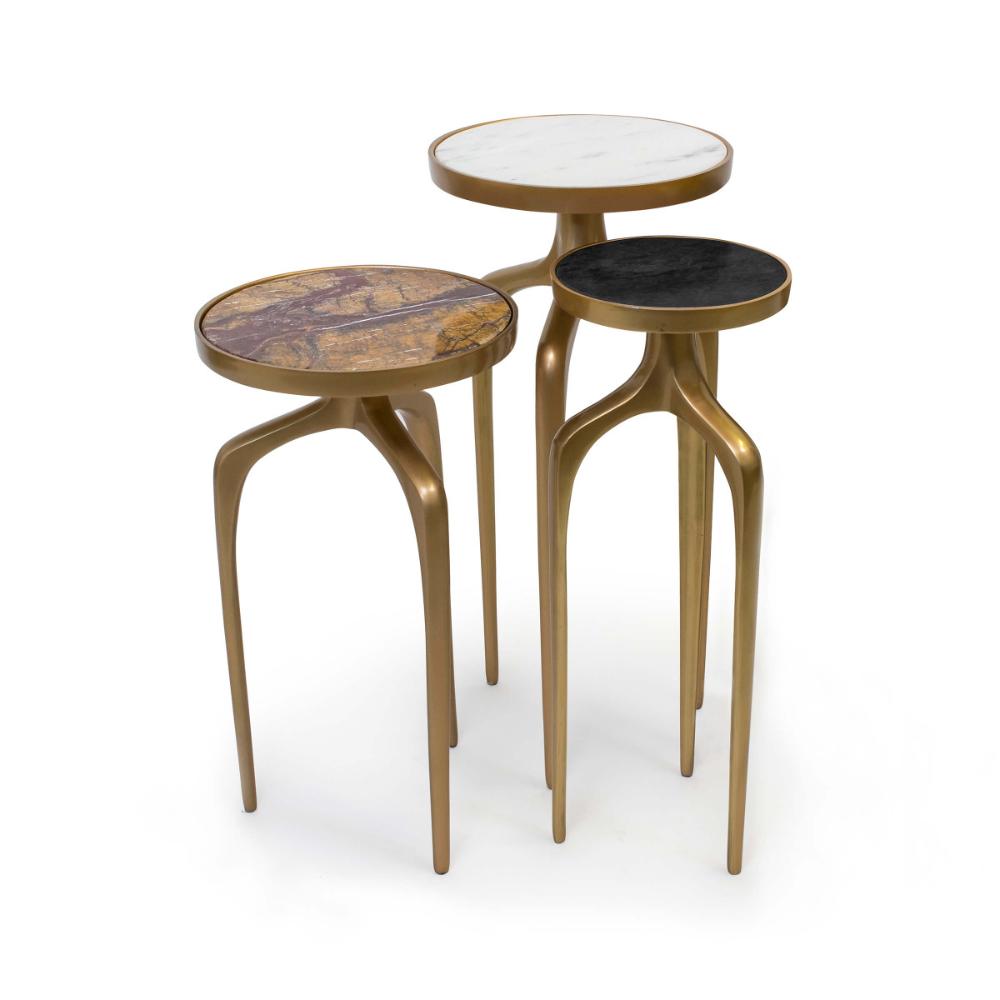 17 Stories Rigina 3 Piece Coffee Table Set Reviews Wayfair [ 2000 x 2000 Pixel ]