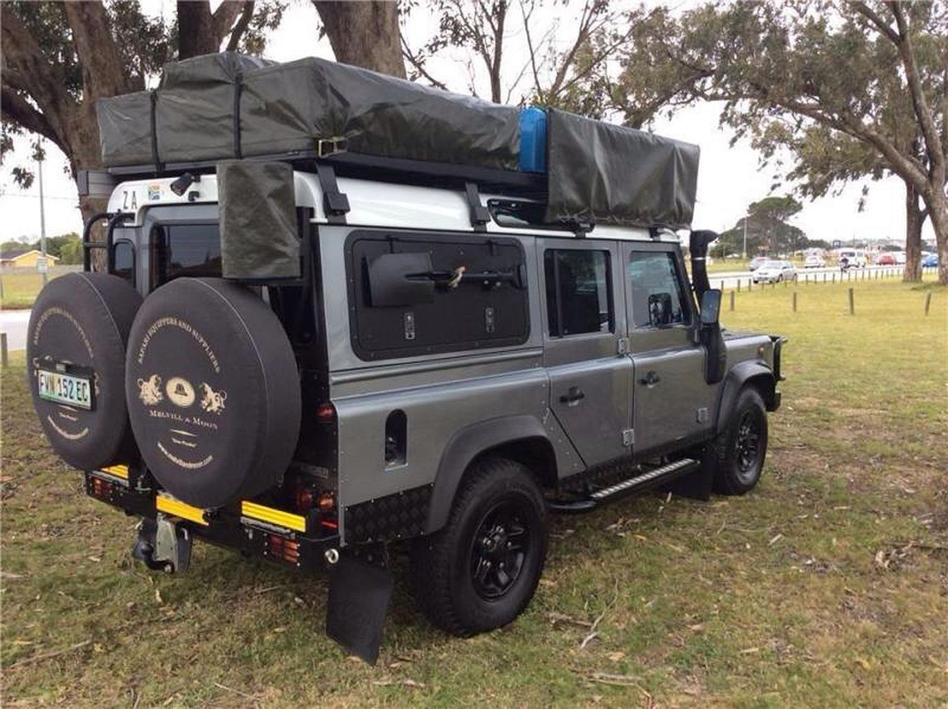 Photo Land Rover Defender Camping Adventure Land Rover Defender